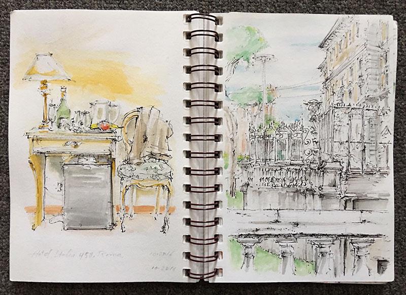 rome-sketch